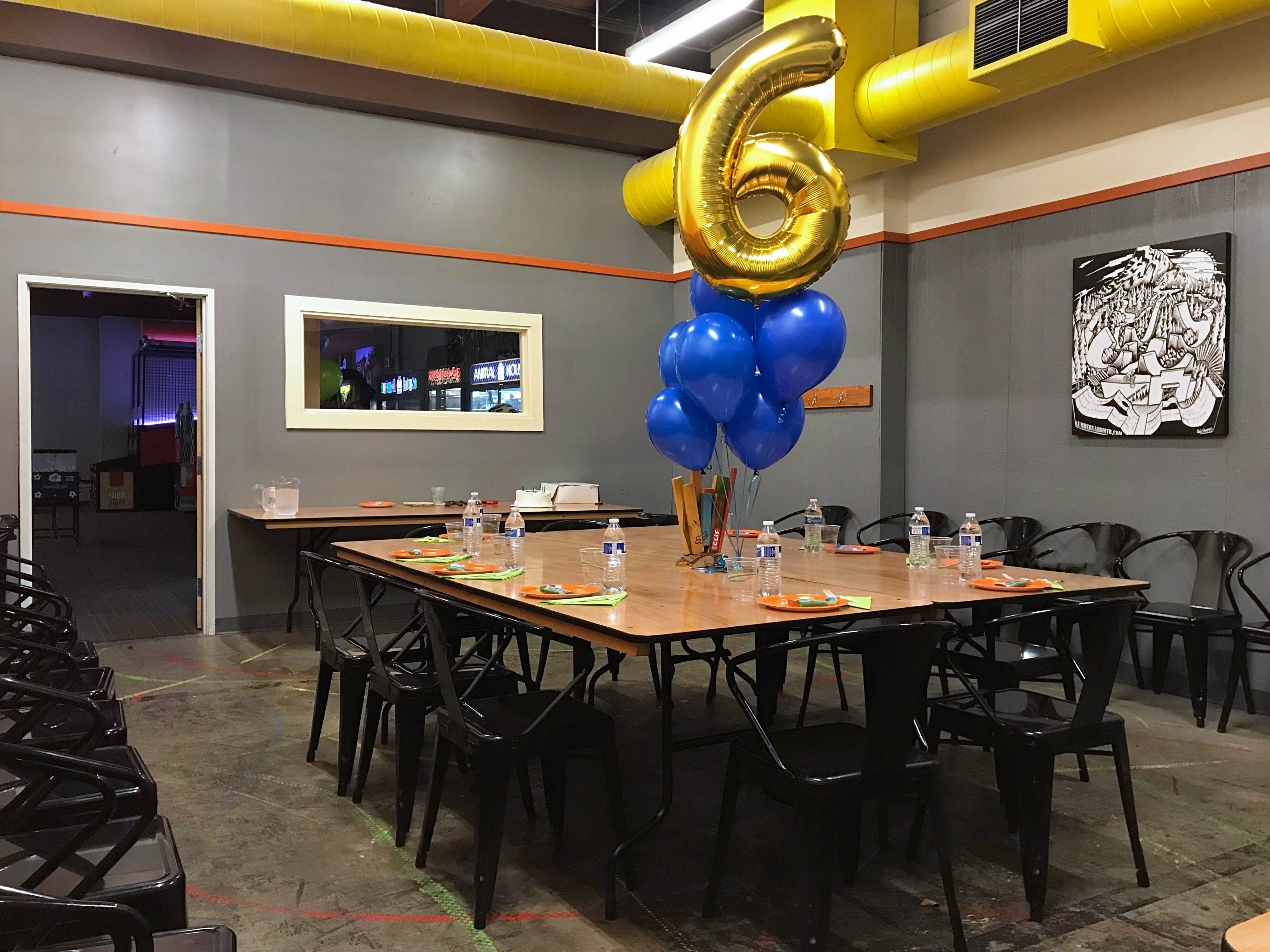Private Birthday Party Room