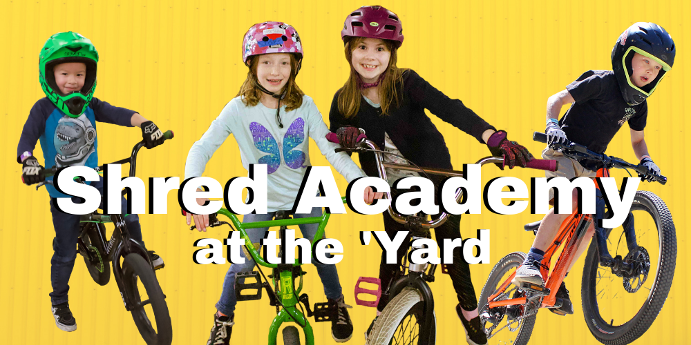 Shred Academy - Lumberyard Indoor Bike Park
